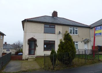 Thumbnail 2 bedroom semi-detached house for sale in Local Avenue, Sherburn Hill, Durham