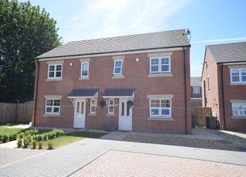 Thumbnail 3 bedroom semi-detached house for sale in Hickory Court, Pontefract