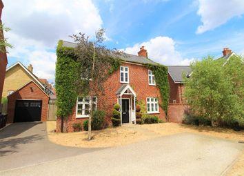 Thumbnail 4 bed detached house for sale in Woden Gardens, Biddenham, Bedford