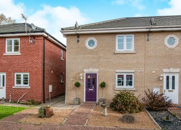 Thumbnail 3 bed end terrace house for sale in The Osiers, Stowmarket