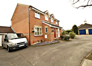 3 bed semi-detached house for sale in Bentley Drive, Church Langley, Harlow CM17
