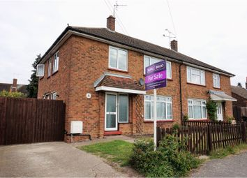 Thumbnail 4 bed semi-detached house for sale in Longfield Road, Aldershot