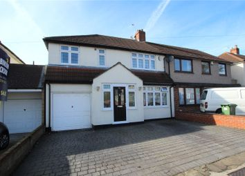 Thumbnail 4 bed semi-detached house for sale in Raeburn Road, Sidcup, Kent