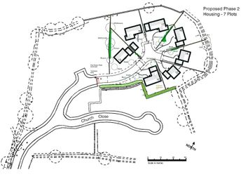 Thumbnail Land for sale in Plot 17, Church Close, Begelly, Kilgetty