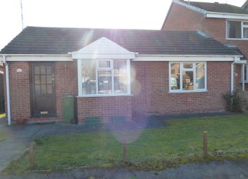 Thumbnail 2 bed bungalow to rent in Field Close, Littlethorpe, Leicester
