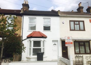 Thumbnail 3 bed terraced house to rent in Woodcroft Road, Thornton Heath