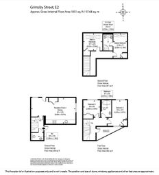 Thumbnail 4 bed end terrace house for sale in Grimsby Street, London