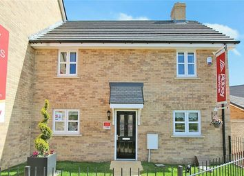 Thumbnail 3 bedroom end terrace house for sale in The Heron At Chiswell Place, New Cardington, Bedfordshire