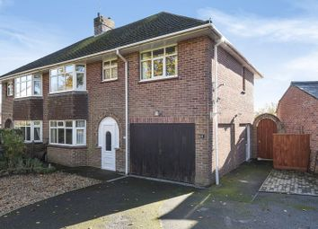 Thumbnail 4 bed semi-detached house for sale in Manor Road, Dorchester