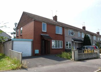 Thumbnail 3 bed end terrace house for sale in Drakes Way, Swindon