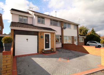 Thumbnail 5 bed semi-detached house for sale in Abberley Avenue, Areley Common, Stourport-On-Severn
