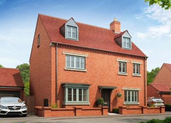 "Thumbnail 5 bedroom detached house for sale in ""Warwick"" at Halse Road, Brackley"