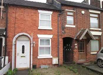 Thumbnail 2 bedroom terraced house for sale in Sandbach Road, Rode Heath