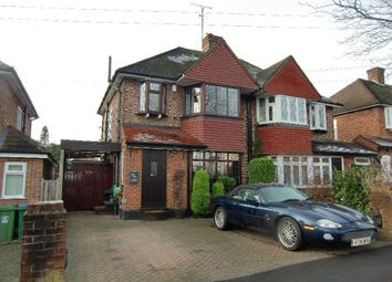 Thumbnail 3 bed semi-detached house for sale in Woodhurst Avenue, Watford, Herts