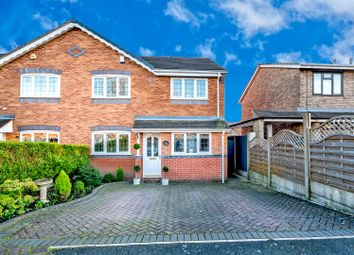 Thumbnail 3 bedroom semi-detached house for sale in Columbian Drive, Cannock