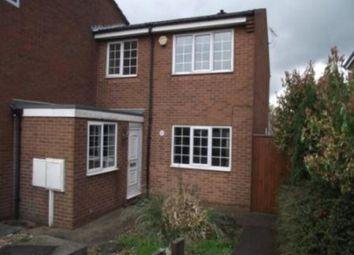 Thumbnail 3 bedroom town house to rent in Farm Avenue, Hucknall, Nottingham