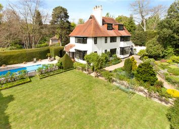 Thumbnail 7 bed detached house for sale in Upper Park Road, Camberley, Surrey