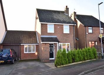 Thumbnail 3 bed detached house for sale in The Dell, Luton