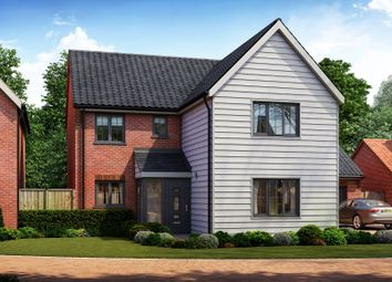 Thumbnail 4 bed detached house for sale in Rightup Lane, Wymondham