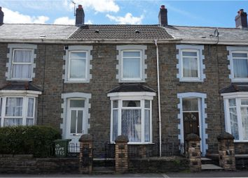 Thumbnail 4 bed terraced house for sale in Clifton Crescent, Aberdare