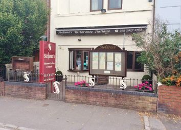 Thumbnail Restaurant/cafe for sale in 14 Romilly Cresent, Cardiff