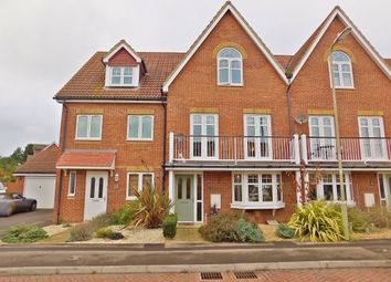 Thumbnail 4 bed town house for sale in Magister Drive, Lee-On-The-Solent
