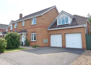 Thumbnail 5 bedroom detached house for sale in Morgan Close, Yaxley, Peterborough