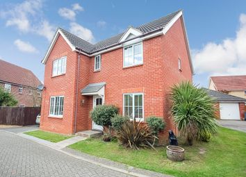Thumbnail 5 bed detached house for sale in George Road, Thetford, Norfolk
