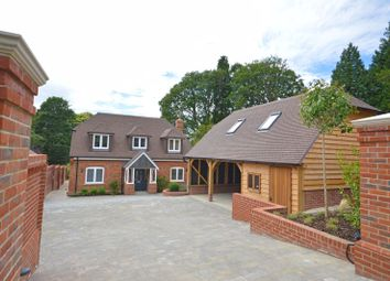 Thumbnail 4 bed detached house for sale in Crossways Road, Grayshott, Hindhead