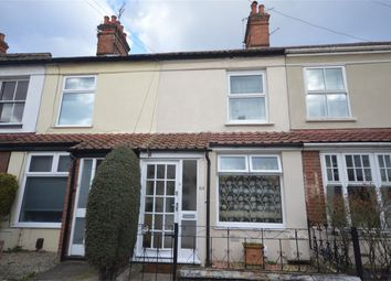 Thumbnail 3 bedroom terraced house for sale in Vincent Road, Norwich