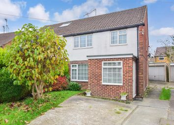 Thumbnail 3 bed semi-detached house for sale in St. Marys Drive, Three Bridges, Crawley, West Sussex