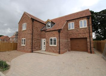 Thumbnail 4 bed detached house for sale in Hutton Cranswick, Driffield