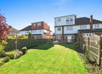 Thumbnail 4 bed semi-detached house for sale in Clarence Avenue, New Malden