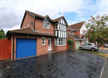 Thumbnail 4 bed detached house for sale in 45, Kempton Way, Llwyn Onn Park, Wrexham, Wrecsam