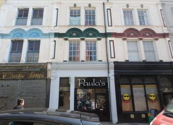 Thumbnail 1 bed flat to rent in Flat 1, 20 Bangor Street, Caernarfon