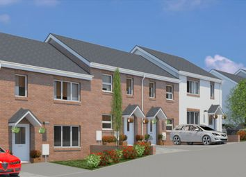 Thumbnail 3 bedroom end terrace house for sale in Plot 14, Bowling Green View, Cullompton, Devon