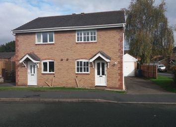 Thumbnail 3 bed semi-detached house to rent in Chatwood Court, Shrewsbury