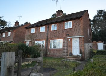 Thumbnail 2 bed semi-detached house for sale in Burnt Hill Road, Lower Bourne, Farnham, Surrey
