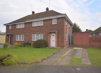 Thumbnail 3 bed semi-detached house for sale in The Crescent, Bletchley, Milton Keynes