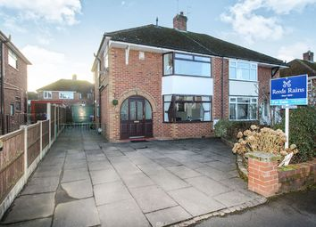 Thumbnail 3 bed semi-detached house for sale in Ash Green Close, Trentham, Stoke-On-Trent