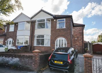 Thumbnail 4 bed semi-detached house for sale in Matlock Road, Reddish, Stockport, Greater Manchester