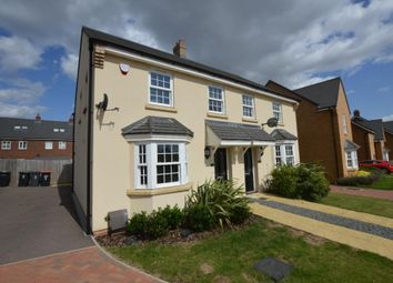 Thumbnail 3 bed semi-detached house to rent in The Bower, Kempston