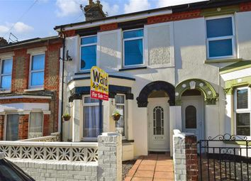 Thumbnail 2 bed terraced house for sale in Eaton Road, Dover, Kent
