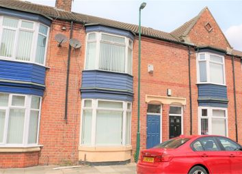 Thumbnail 3 bed terraced house to rent in Cromwell Road, South Bank, Middlesbrough
