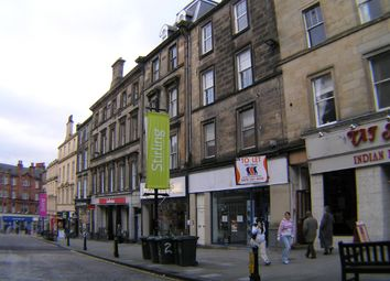 Thumbnail 3 bed flat for sale in King Street, Stirling