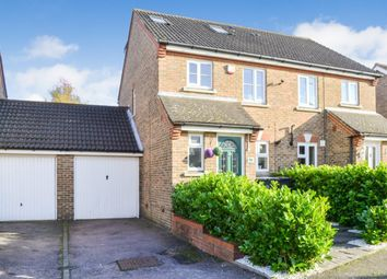 Thumbnail 3 bed semi-detached house for sale in Rushton Grove, Harlow, Essex
