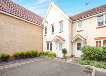 Thumbnail 3 bedroom terraced house for sale in Cuthbert Close, Thetford