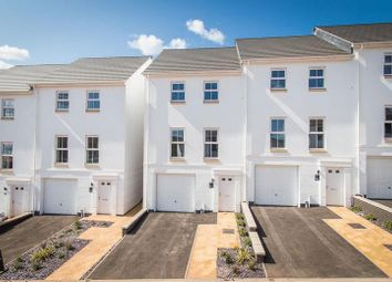 Thumbnail 3 bed end terrace house for sale in Tarka Way, Crediton