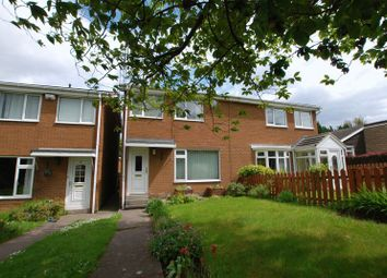 Thumbnail 3 bed semi-detached house for sale in Warwick Court, Kingston Park, Newcastle Upon Tyne