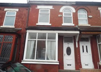 Thumbnail 3 bedroom terraced house for sale in Egmont Street, Manchester